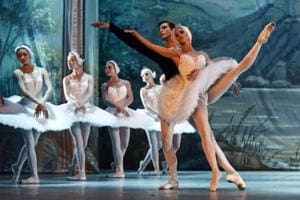 Photos: Swan Lake, soars in majestic performance at Delhi's Siri...