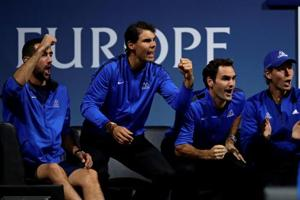 Team Europe jumps ahead in inaugural Laver Cup tennis
