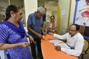 MCG elections Gurgaon: Senior citizens, women exercise franchise;...