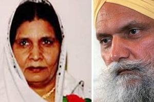 Jassi's mother Malkiat Kaur and uncle Surjeet Singh