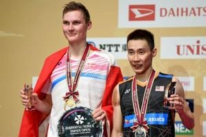 Viktor Axelsen beats Lee Chong Wei to clinch maiden Japan Open...