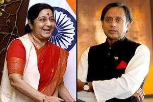 Sushma Swaraj's gave a strong reply to Pakistan, says Shashi Tharoor