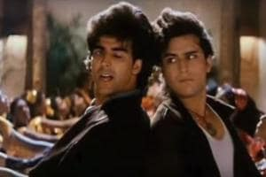 When Akshay, Saif danced to Main Khiladi Tu Anadi title track that...
