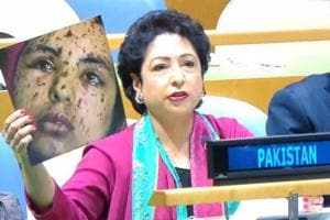 Pakistan diplomat goofs up, tries to pass off image of Gaza as Kashmir