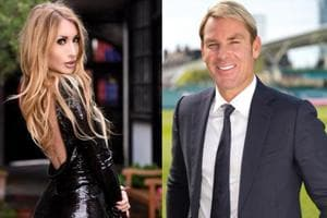 Shane Warne accused of assaulting pornstar Valerie Foxx in a London...