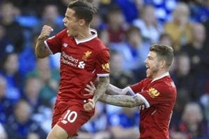 Philippe Coutinho scores stunning brace as Liverpool beat Leicester...