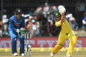 Aaron Finch slams fifty on comeback to boost Australia in Indore ODI...