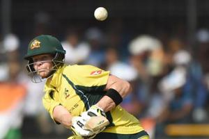 Steve Smith fifty compliments Aaron Finch ton in India vs Australia...