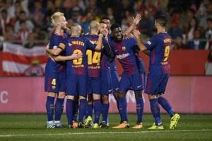 Barcelona beat Girona 3-0 to maintain perfect start in La Liga