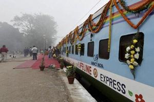 The hospital-on-train was launched in 1991 after an agreement between the Impact India Foundation (IIF), a Mumbai-based NGO, and the railway ministry.
