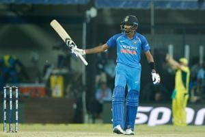 Hardik Pandya top scored for India with a brilliant 78 during the 3rd ODI against Australia at the Holkar Stadium in Indore on Sunday. Get highlights of India vs Australia 3rd ODI here.