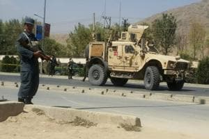Suicide bomber strikes convoy in Afghan capital, wounds 3