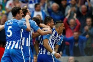 Premier League: Tomer Hemed the hero as Brighton beat Newcastle United