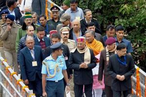 President Ram Nath Kovind offers prayers at Kedarnath, Badrinath