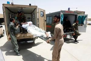 Afghan province, squeezed by Taliban, loses access to medical care