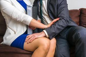 Employees who are sexually harassed by co-workers more likely to show...