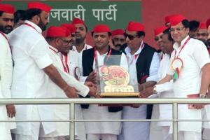 With SP convention, Akhilesh shows he is firmly in saddle