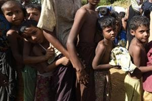 India sends 620 tonnes of food, mosquito nets for Rohingya refugees in...