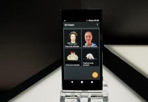 Sony Xperia XZ1 lets you create 3D avatars of anyone and anything.