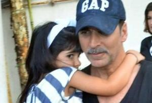 Akshay Kumar's birthday wish for daughter Nitara: Please don't grow...