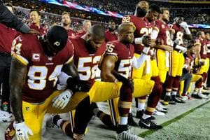 Wave of protests grip NFL after Donald Trump urges fan boycott