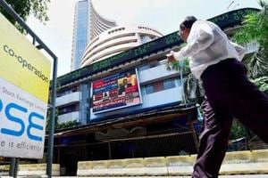 Stock market: Sensex gets a scare on global headwinds, dives 287...