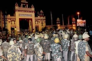 BHU campus crackdown: Three additional city magistrates, two cops...