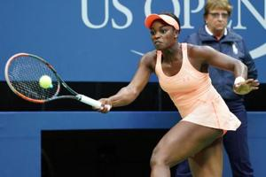 US Open winner Sloane Stephens tumbles out at Wuhan Open