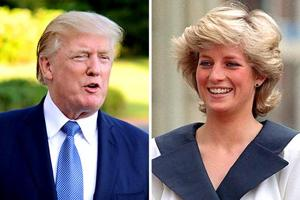 In old interviews, Donald Trump jokes jokes about asking Princess...