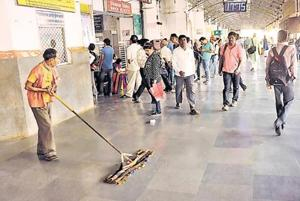 Keep stations clean or face strict action: Railway minister to...