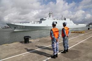 Chinese troops conduct first military drill in Djibouti