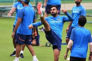 Virat Kohli shows no let-up in intensity as India train in Bangalore