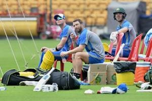 India vs Australia: Visitors train hard for penultimate game at...