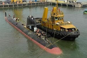 Scorpene-class submarine likely to be commissioned by Nov-Dec