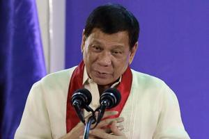 Shooting incident near residence of Philippine president Rodrigo...