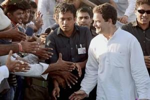 """Calling Prime Minister Narendra Modi-promoted """"Gujarat model of development"""" a failure, Rahul Gandhi called for the return of the old Amul model, which he said catered to all sections of the society."""