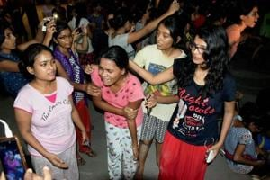 Photos | BHU protests: Blame game begins over alleged sexual...