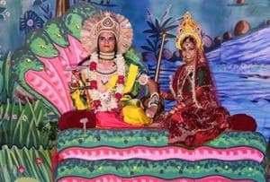 A two-day musical Ramlila is being staged in Gurgaon this weekend, and will conclude with Ravana Dahan on the eve of September 30.