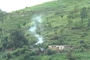 Pakistani army fired at Indian troops in Poonch and Rajouri. (ANITwitter)