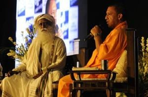 Yogi stressed on public participation to keep the rivers clean.