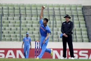 Washington Sundar has had a decent run for India Red in the ongoing Duleep Trophy final against India Blue.