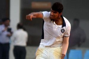 Washington Sundar helped India Red win the Duleep Trophy on Thursday.