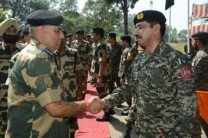 Singed by BSF fire, Pak Rangers commit to uphold ceasefire along...