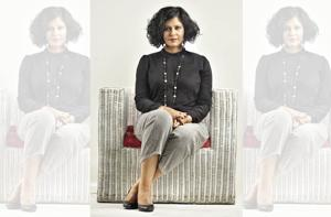 NDTV anchor Sunetra Choudhury is known as the no-nonsense question expert. Sunetra wears pants from Anokhi, top from Zara, shoes from Nine West, watch from Omega and a neckpiece from a bazaar in Istanbul.  Make-up and hair by Anjali Jain