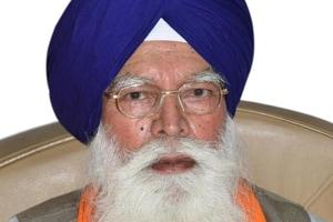Shiromani Gurdwara Parbandhak Committee president Kirpal Singh Badungar