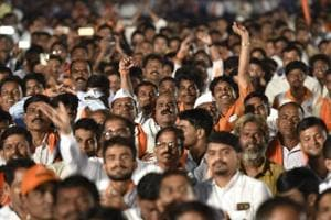 Noise levels were neck and neck during speeches made by Shiv Sena leaders Vishwanath Mahadeshwar and Nitin Banugade Patil at 92dB, followed by the introductory speech at 90.3dB.
