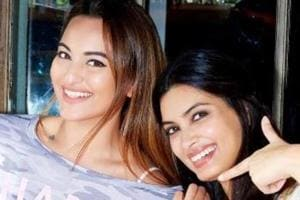 Actors Diana Penty andSonakshi Sinha are part of Happy Bhag Jayegi Returns.