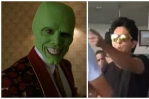 What's the connection between Aditya Narayan and The Mask?