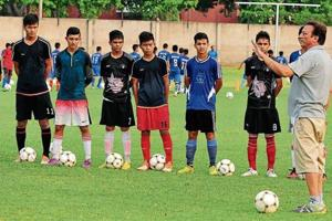 The Chandigarh Football Academy's role in building Indian team for FIFA U-17 World Cup has been immense.