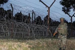 File Photo of Indian Army jawans patrolling at the Line of Control (LOC) in Poonch district of Jammu and Kashmir.